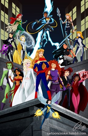 Disney's Marvel Princesses