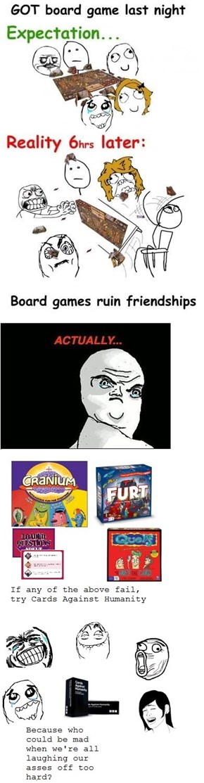 Re-Raged: Board Games