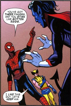 Spider-Man Hates Mutants