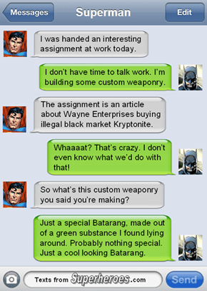 Justice League Insider Trading