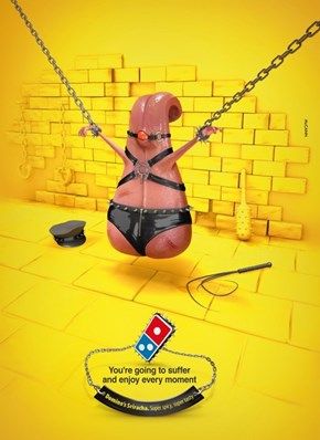 Ad of the Day: Here's the S&M Sriracha Pizza Promo Domino's Didn't Want You to See