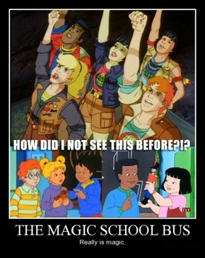 The Magic Planeteer Bus