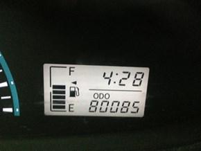 Odometer milestone