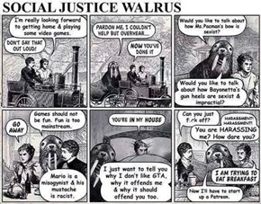 Social Justice Walrus