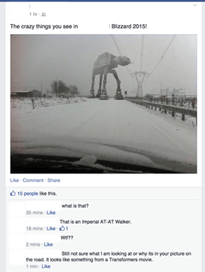 Another Year, Another Winter of People Believing Hoth is Real