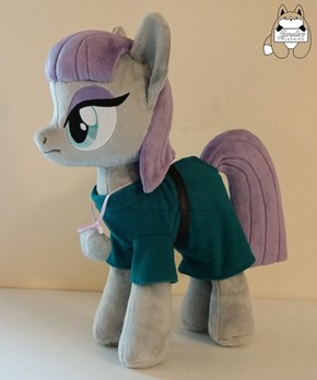 Custom Maud Plushie Has Her Own Boulder Necklace