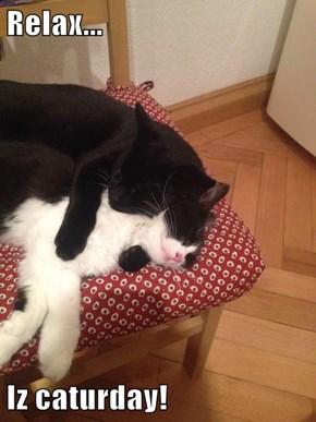 Relax...  Iz caturday!