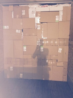This Delivery Guy Wins at Package Tetris