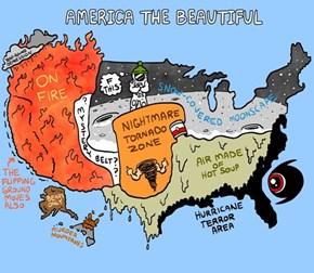 America Has Some Interesting Weather Zones