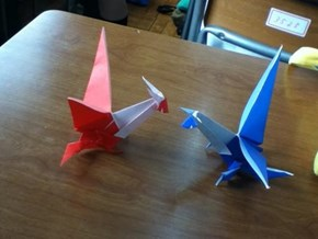 Paper Latias Vs. Paper Latios