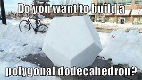 Do you want to build a   polygonal dodecahedron?