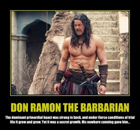 DON RAMON THE BARBARIAN