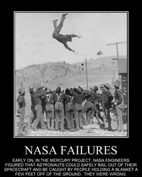 NASA FAILURES