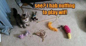 see? i hab nuffing to play wif!