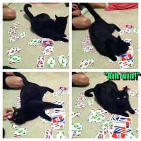 """""""Aih win!"""""""