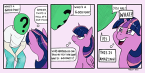 Ponify All The Comics