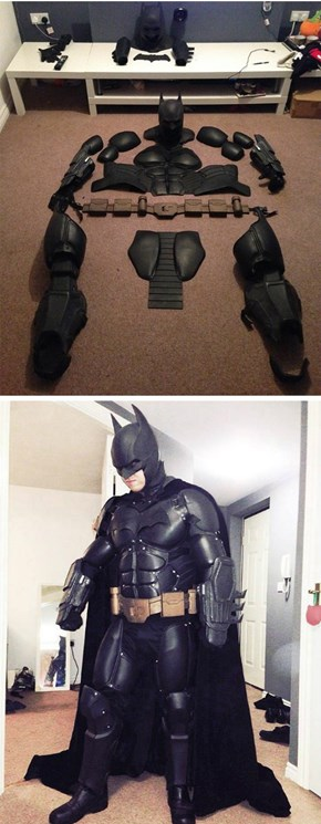 3D Printed Batsuit is Awesome, But It Needs a Cup