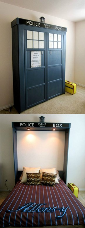 The Perfect Murphy Bed