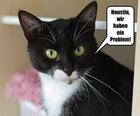Houstin, wir haben ein Problem!