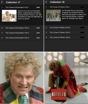Netflix Recommends Skipping The Sixth Doctor