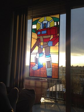 The Centerpiece of the St. Optimus Prime Cathedral