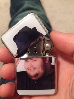 Need a Light, M'Lady?