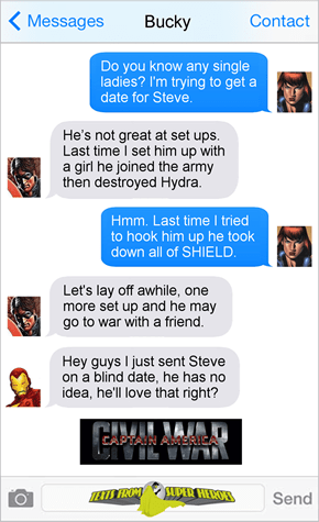 Captain America Dating