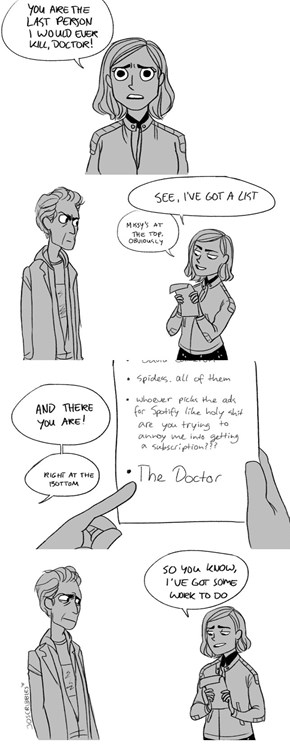 Watch Your Back, Doctor