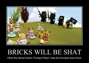 BRICKS WILL BE SHAT