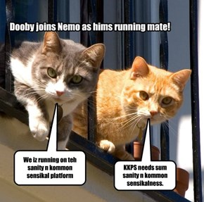Doby joins wif Nemo.