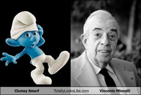 Clumsy Smurf  Totally Looks Like Vincente Minnelli