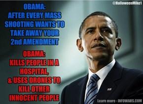 Obama 2nd Amendment Hypocrite