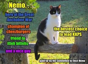 Nemo's new campaign ad