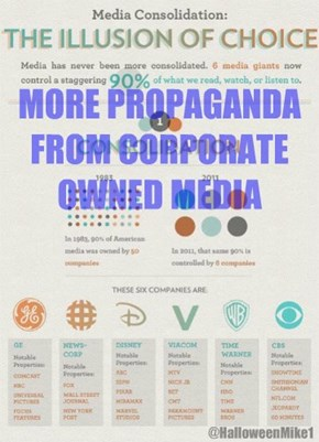 Propaganda from Corporate Media