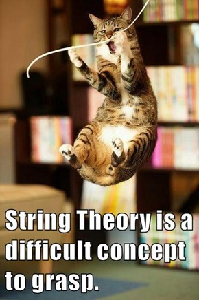 String Theory is a difficult concept to grasp.