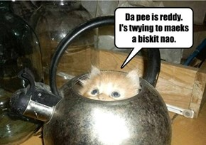 It's pee time!