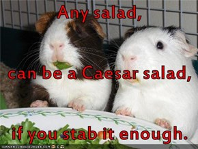 Culinary assassination