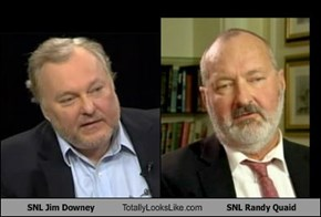 SNL Jim Downey Totally Looks Like SNL Randy Quaid