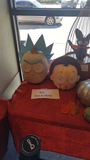 Rick and Pumpky