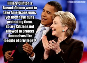 Clinton & Obama want your Guns!