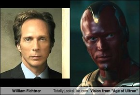 "William Fichtner Totally Looks Like Vision from ""Age of Ultron"""