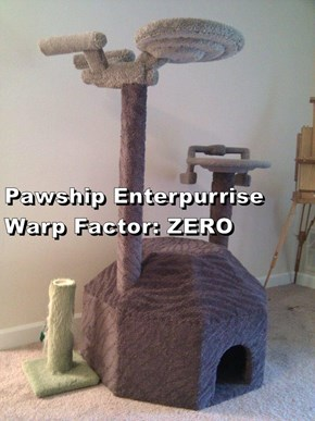 Pawship Enterpurrise                                                                             Warp Factor: ZERO