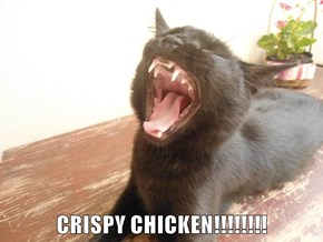 CRISPY CHICKEN!!!!!!!!