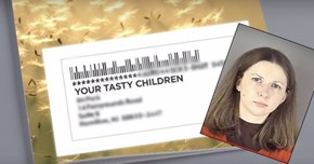 WTF of The Day: Woman Sends Note to Neighbors Saying She Wants to Eat Their Children