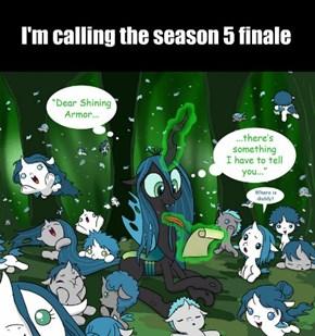I'm calling the season 5 finale