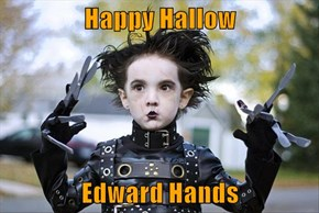 Happy Hallow  Edward Hands