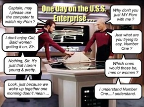 One Day on the U.S.S. Enterprise...