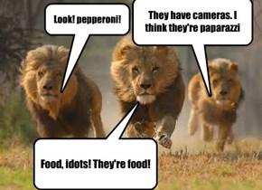 Look! pepperoni!