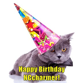 Happy Birthday NCcharmer!