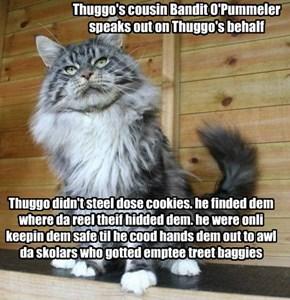 relatives claim Thuggo nawt guiltees